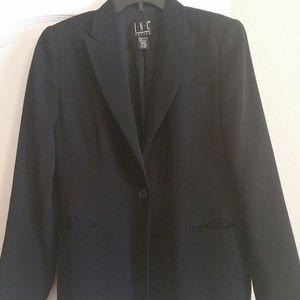 #213 INC Black Suit Jacket Size 8P